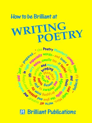 cover image of How to be Brilliant at Writing Poetry