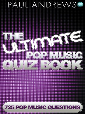 cover image of The Ultimate Pop Music Quiz Book