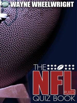 cover image of The NFL Rules Quiz Book