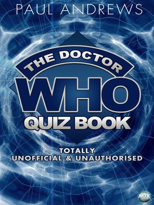 cover image of The Doctor Who Quiz Book
