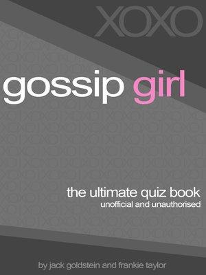 cover image of Gossip Girl