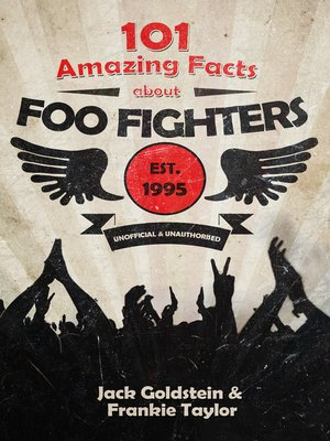 cover image of 101 Amazing Facts about Foo Fighters