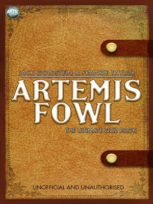 cover image of Artemis Fowl - The Ultimate Quiz Book