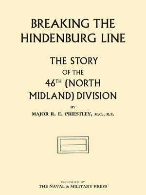 cover image of Breaking the Hindenburg Line