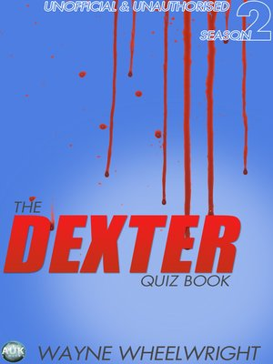 cover image of The Dexter Quiz Book, Season 2