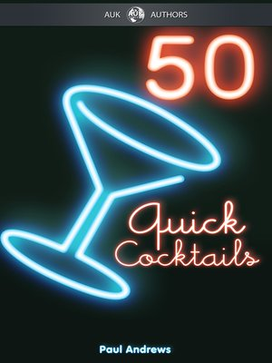 cover image of 50 Quick Cocktail Recipes