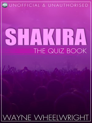 cover image of Shakira - The Quiz Book