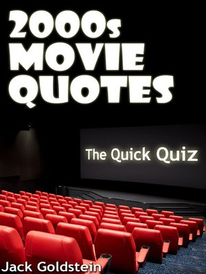 cover image of 2000s Movie Quotes: The Ultimate Quiz Book