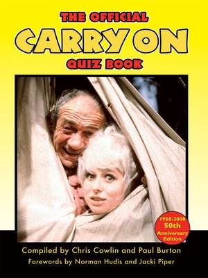 cover image of The Official Carry On Quiz Book