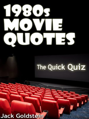 cover image of 1980s Movie Quotes: The Ultimate Quiz Book