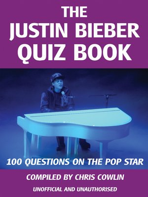 cover image of The Justin Bieber Quiz Book