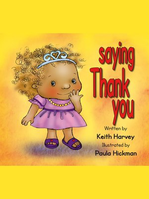 cover image of Saying Thank You
