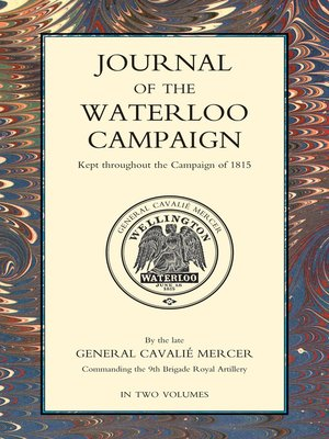 cover image of Journal of the Waterloo Campaign, Volume 2