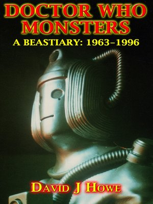 cover image of Doctor Who Monsters