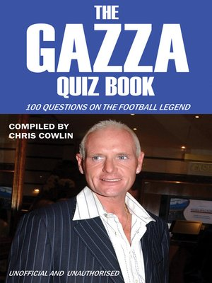 cover image of The Gazza Quiz Book