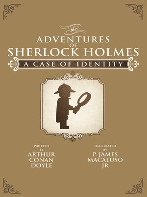 cover image of A Case of Identity - Lego - The Adventures of Sherlock Holmes