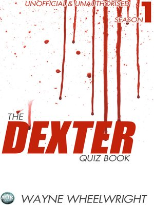 cover image of The Dexter Quiz Book, Season 1