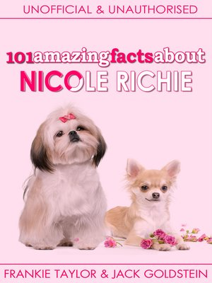 cover image of 101 Amazing Facts about Nicole Richie