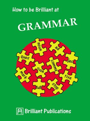 cover image of How to be Brilliant at Grammar