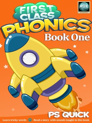 cover image of First Class Phonics, Book 1