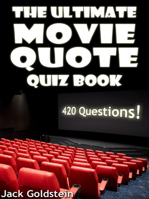 cover image of The Ultimate Movie Quote Quiz Book