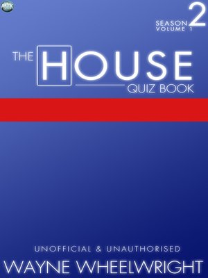 cover image of The House Quiz Book Season 2, Volume 1