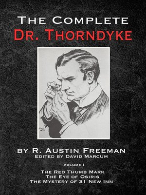 cover image of The Complete Dr. Thorndyke, Volume 1