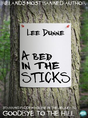 cover image of A Bed in the Sticks