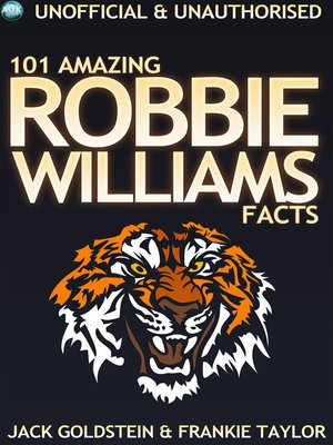 cover image of 101 Amazing Robbie Williams Facts