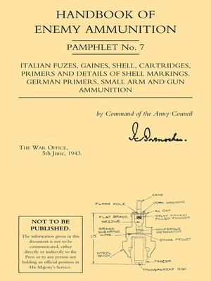 cover image of Handbook of Enemy Ammunition