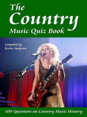 cover image of The Country Music Quiz Book