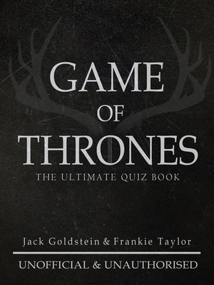 cover image of Game of Thrones