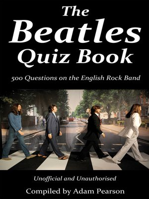 cover image of The Beatles Quiz Book