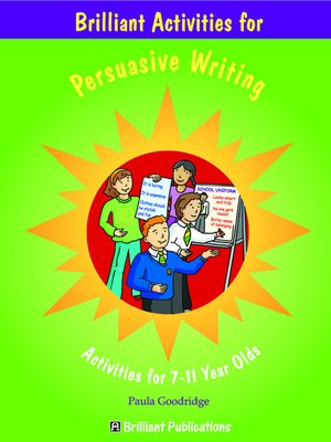 cover image of Brilliant Activities for Persuasive Writing