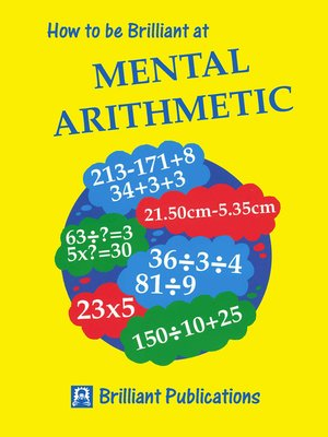 cover image of How to be Brilliant at Mental Arithmetic