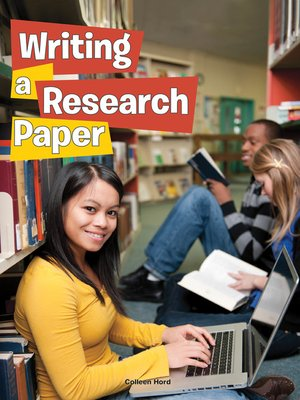 cover image of Writing a Research Paper