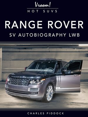 cover image of Range Rover SV Autobiography LWB