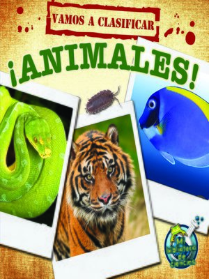 cover image of Vamos a clasificar animales
