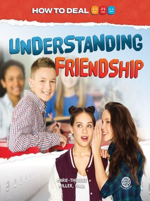 cover image of Understanding Friendship
