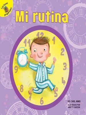 cover image of Mi rutina