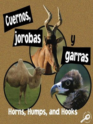 cover image of Cuernos, jorobas y garras (Horns, Humps, and Hooks)