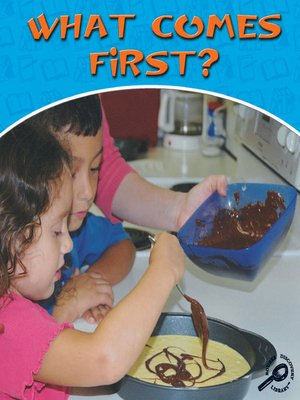 cover image of What Comes First