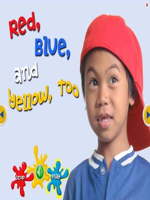 cover image of Red, Blue and Yellow Too