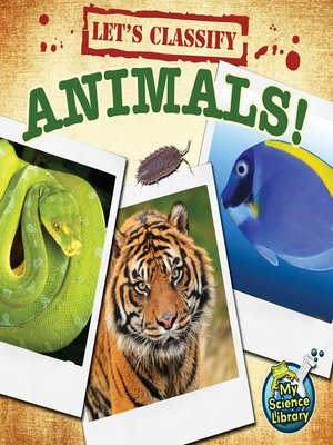 cover image of Let's Classify Animals!