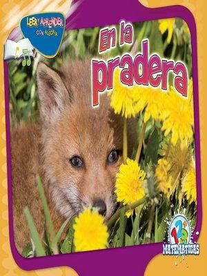 cover image of En la pradera (Over in the Meadow)
