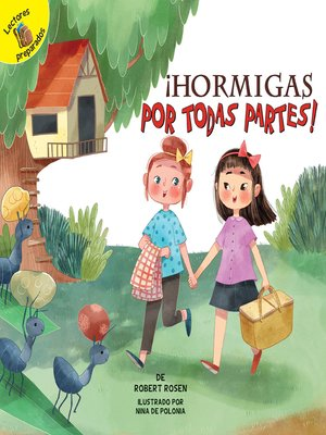 cover image of ¡Hormigas por todas partes!