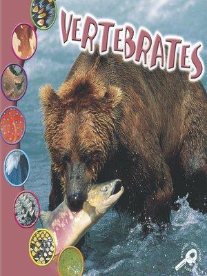 cover image of Vertebrates