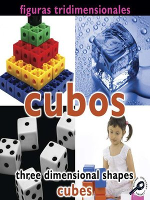 cover image of Cubos (Three Dimensional Shapes: Cubes)