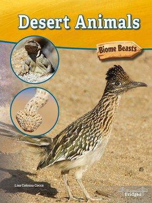 cover image of Desert Animals