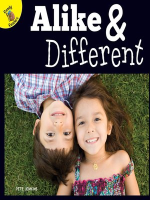 cover image of Alike and Different